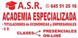 A.S.R. - Formación