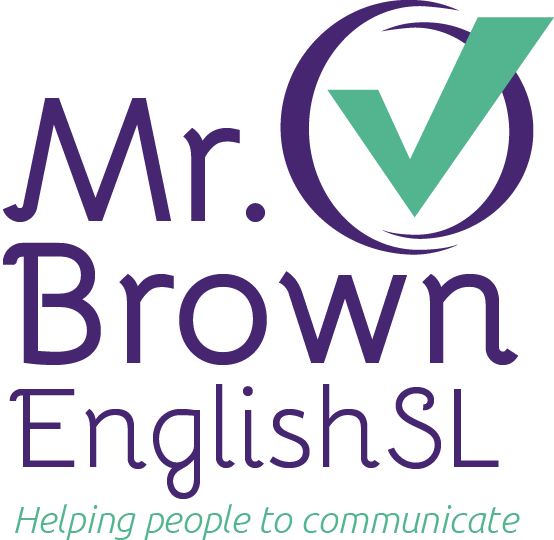 Mr Brown English