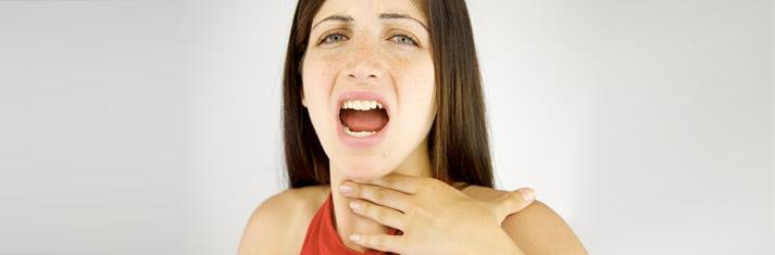 porque me duele la garganta al cantar