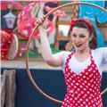 Lezioni di hula hoop multi livello. in forma divertendoti! istruttrice certificata hulahoopitalia per hoop dance e hoop fit