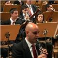 Clases de clarinete y lenguaje musical