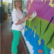 Profesora de arte preparo alumnos primario secundario