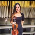 Clases particulares de violín y lenguaje musical