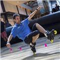 Clases patinaje (todas modalidades y niveles: iniciación, avanzado, freestyle slalom, rutas, hielo)