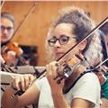 Clases particulares violín- lenguaje musical- historia música