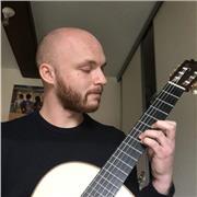 Professeur de guitare classique et électrique