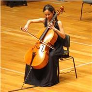 Profesora violonchelo, clases particulares de música en san sebastián