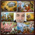 Ilustración, dibujo, pirograbado y animación