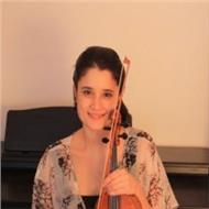 Licenciada en violín con amplia experiencia pedagógica imparte clases particulares