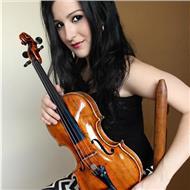 Profesora de violín y lenguaje musical