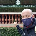 Soy profesor de tenis por la federación española y catalana de tenis