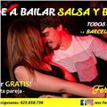 Clases salsa, bachata, kizomba y grupo coreográfico en el centro de barcelona