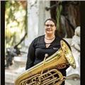 Profesora licenciada en tuba y bombardino da clases individuales y colectivas. también se ofrecen online