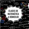 Clases particulares de matemática a domicilio. de 1ero a 6to de secundaria y cálculo 1 o equivalentes
