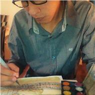 Estudiante de arquitectura ofrece clases de dibujo