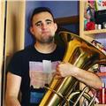 Estudiante de grado superior de tuba en jaén