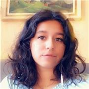 étudiante d'origine espagnole, maitrisant la langue et donnant des cours pour tout niveau d'apprentissage