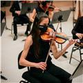 Violinista ofrece clases de violín y lenguaje musical para todas las edades