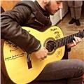 Guitarrista flamenco ofrece clases de guitarra. nivel básico-intermedio (cualquier estilo)