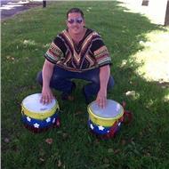 Clases de percusión tambor campana tambores afro en general