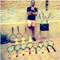 Clases de tenis (básico, intermedio y avanzado.) - entrenamiento de acondicionamiento fisico. - clases de badminton. (básico e intermedio)