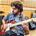 Clases particulares de guitarra moderna y composición