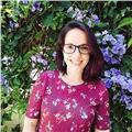 Maestra de educación primaria especialidad lengua inglesa para niños/as así como estudiantes de colegio