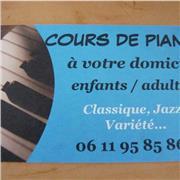 COURS DE PIANO A VOTRE DOMICILE