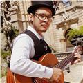 Clases de guitarra, bajo, canto, batería, percusión en ingles o castellano. titulación profesional en jazz