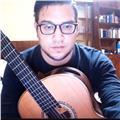 Profesor de guitarra clásica, con formacion en interpretación y pedagogía suzuki, con 12 años de experiencia en enseñanza a todas las edades