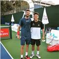 Si quieres aprender a jugar a tenis o mejorar tus golpes no lo dudes! ponle actitud y vamos a entrenar!