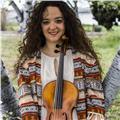 Se imparten clases de viola, violin y lenguaje musical
