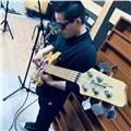 Profesor de música de clases en la especialidad de bajo, guitarra acústica, guitarra alectrica, y apreciacion musical como entrenamiento auditivo, lectura musical y lectura ritmica