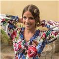 Doy clases particulares online de sevillanas, bulerias, otros palos del flamenco flamenco y castañuelas