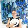 Taller y clases individuales online de pintura y collage abstracto
