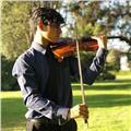 Doy clases particulares de violín a personas de distintas edades, también trabajo en el colegio polivalente adventista de san joaquín
