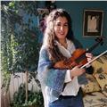 Profesora titulada superior imparte clases de violín y/o lenguaje musical