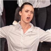 Etudiante au conservatoire municipal en classe de théâtre