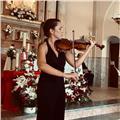 Clases particulares de violín, posibilidad de hacerlas tanto presenciales como online