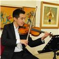 Clases particulares de violín, piano, teoría musical, solfeo