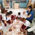 Profesora de artes plásticas y visuales