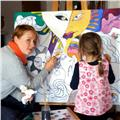 Classes de pintura y dibujo para niños y adultos