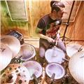 Clases de batería y talleres de percusión para todas las edades presencial y/o online