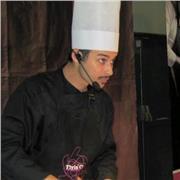 Chef cuisinier gastronomique propose cours de cuisine
