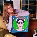 Profesora de mandalas tecnica mehndi, zentangle, puntillismo arte dibujo y pintura
