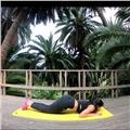 Yoga respiración y meditación para una buena salud alegria y entusiasmo