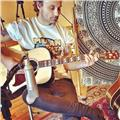Clases de guitarra para principiantes, online o en casa