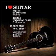 I love guitar espacio de enseñanza musical - clases 100% personalizadas en caballito $250