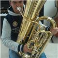 Clases particulares para tuba, bombardino y trombón