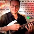 Clases guitarra piano canto bajo batería ukelele armonía contrapunto lenguaje musical y producciòn musical